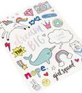 American Crafts Hello Dreamer 68 pk Large Stickers