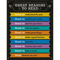 Carson-Dellosa Great Reasons to Read Chart 6pk