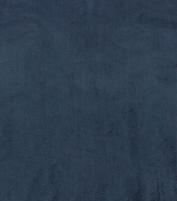 Hudson 43 Velvet Multi-Purpose Decor Fabric 56''-Navy