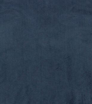 Hudson 43 Velvet Multi-Purpose Decor Fabric 56''-Navy