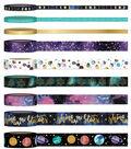 Park Lane Washi Tape Tube 9/Pkg-Stars & Space