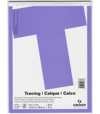"""Canson 9""""x12"""" Tracing Pad"""