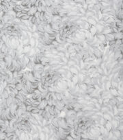 Keepsake Calico Cotton Fabric -White Packed Petals, , hi-res