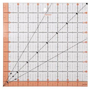 "Fiskars Square Acrylic Ruler (8.5"" x 8.5"")"