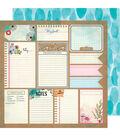Vicki Boutin Field Notes Double-Sided Cardstock 12\u0022X12\u0022-Good Stuff