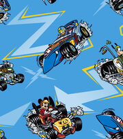 Disney Mickey & Friends Cotton Fabric -Racing, , hi-res