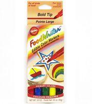 Wilton Fine Tip Primary FoodWriters 5pk, , hi-res