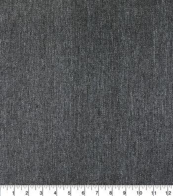 Outdoor Fabric-Herringbone Steel Grey