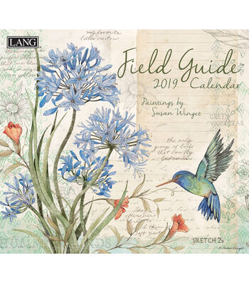 Field Guide 2019 Wall Calendar