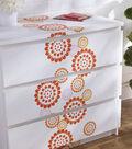 FolkArt 11.75\u0027\u0027x8.25\u0027\u0027 Painting Stencil-Pinwheels Motif