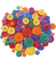 Dress It Up Button Super Value Pack-Finger Paint, , hi-res