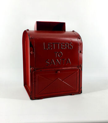 Maker's Holiday Christmas Mailbox-Red