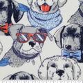 Anti-Pill Plush Fleece Fabric-Cool Dogs