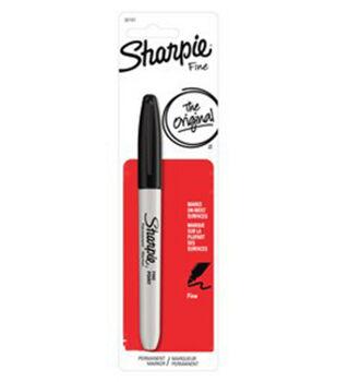 Sharpie Fine Point Permanent Marker 1/Pk-Black