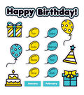 Aqua Oasis: Birthday Graph Bulletin Board Set