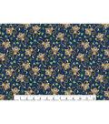 Novelty Cotton Fabric 43\u0027\u0027-Monkey & Bananas on Navy