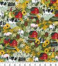 Novelty Cotton Fabric-Farmer\u0027s Kitchen