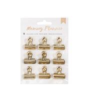 American Crafts 9 Pack Memory Planner Binder Clips, , hi-res