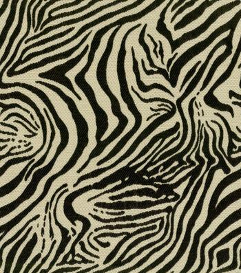"Richloom Studio Fabric 55""-Marvelous Zebra"