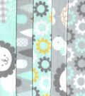 Jelly Roll Cotton Fabric Pack 2.5\u0027\u0027x42\u0027\u0027-Neutral