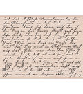 Hero Arts Mounted Stamp-Old Letter Writing