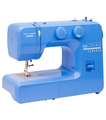 Janome Easy Sewing Machine with Bonus Accessory Bundle-Blue Couture