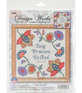 Design Works Crafts Counted Cross Stitch Kit-Sing Praises to God