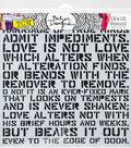 Crafter\u0027s Workshop Julie Fei-Fan Balzer Template 12\u0027\u0027x12\u0027\u0027-Love Sonnet