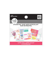 The Happy Planner Girl Tiny Sticker Pad-Super Mom, , hi-res