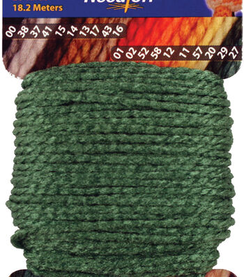 Needloft Craft Yarn 20 Yard Card