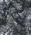 Halloween Cotton Fabric-Haunted Forest Bats