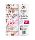 Prima Marketing Double-Sided Paper Pad A4 30/Pkg-Misty Rose, 6 Designs