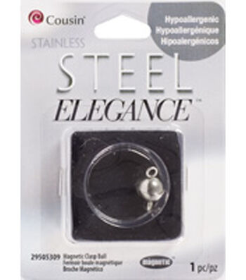 1 Piece Magnetic Clasp Ball Stainless Steel