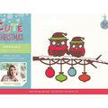 Sara Davies Signature Cute Christmas Metal Die-Winter Owls