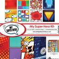 Reminisce My Super Hero 12\u0027\u0027x12\u0027\u0027 Collection Kit