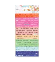 American Crafts Dear Lizzy Confetti Sticker Sheet, , hi-res