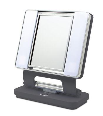 OttLite 26W Dual Sided Makeup Mirror-Cool Grey
