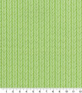 Quilter\u0027s Showcase Cotton Fabric -Linear Arrows Green