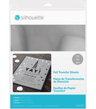 "Silhouette 8.5""X11"" Foil Transfer Sheets 6pk"