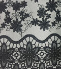 Knit Lace Fabric -Cameo Scallop