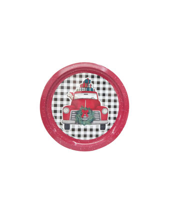Maker's Holiday Christmas Cookie Platter-Truck