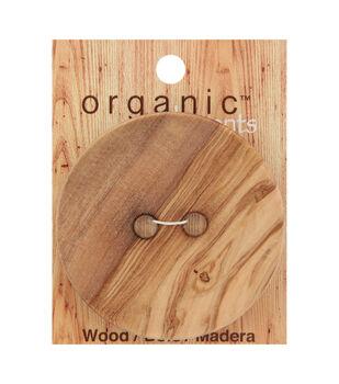 Organic Elements Extra Large Wood 2 Hole Button