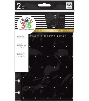 The Happy Planner Mini Snap-in Hard Cover-Gold Dot
