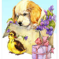 Collection D\u0027Art Diamond Embroidery/Printed/Gem Kit 27X19cm-Fluffy Gifts