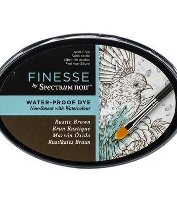 Spectrum Noir Finesse Water Proof Ink Pad-Rustic Brown