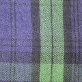 Sportswear Acrylic Fabric-Purple & Green Blackwatch Plaid