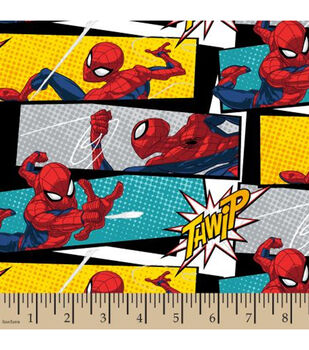 Marvel Spider-Man Cotton Fabric-Stack