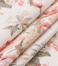 Robert Allen @ Home Lightweight Decor Fabric 55\u0022-Medley Blooms Blush