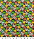 Marvel Cotton Fabric-Kawaii Stacked