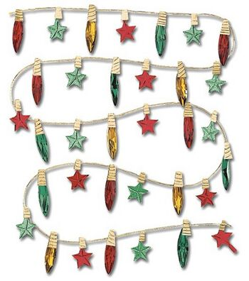 Jolee's Boutique Dimensional Stickers-Christmas Lights